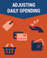 Adjusting daily spending