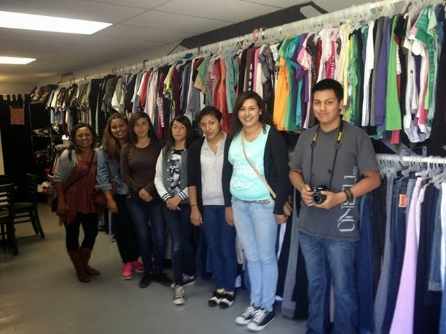 A clothing closet protects residents from bullying