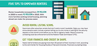 Five tips to empower renters