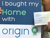 Origin helps make homeownership reality for busy single mom