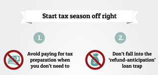 Four tips to start tax season off right
