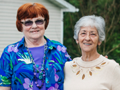 Providing housing and services to allow seniors to live independently