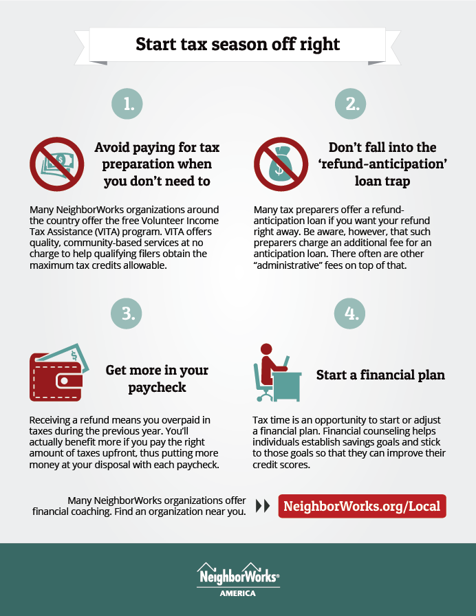 Four tips to start tax season off rig...